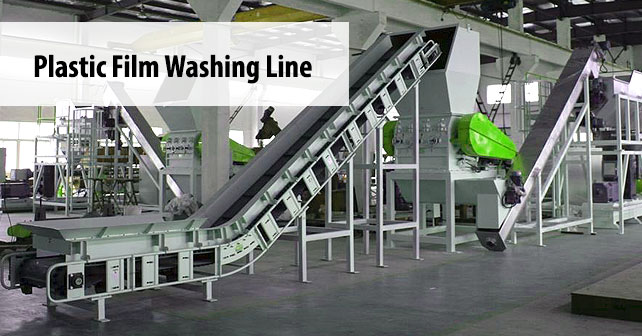 Plastic Film Washing Line Plastic Recycling Machine