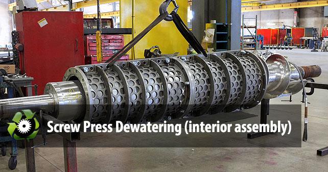 screw-press-dewatering-machine-interior
