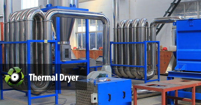 Thermal Dryer 187 Plastic Recycling Machine