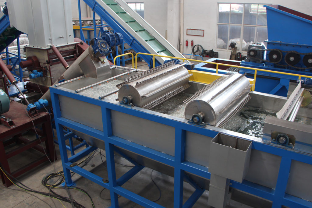 PET Bottle Washing Lines - Plastic Recycling Machines