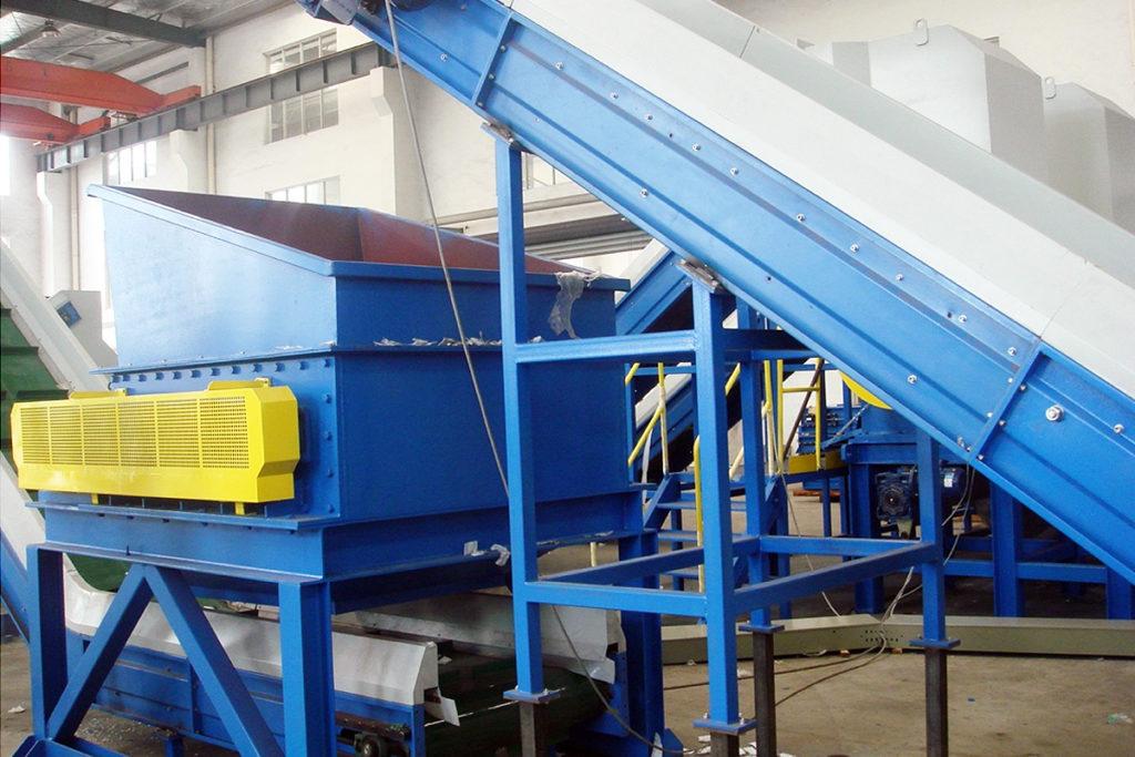 debaler machine for plastic recycling