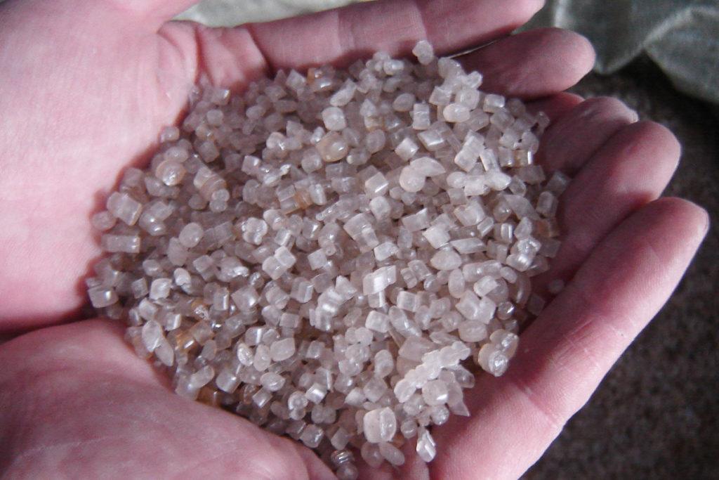 plastic film pellets