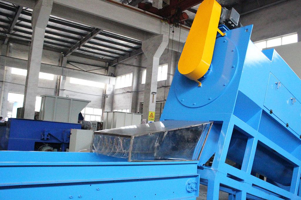 wet debaler machine front view